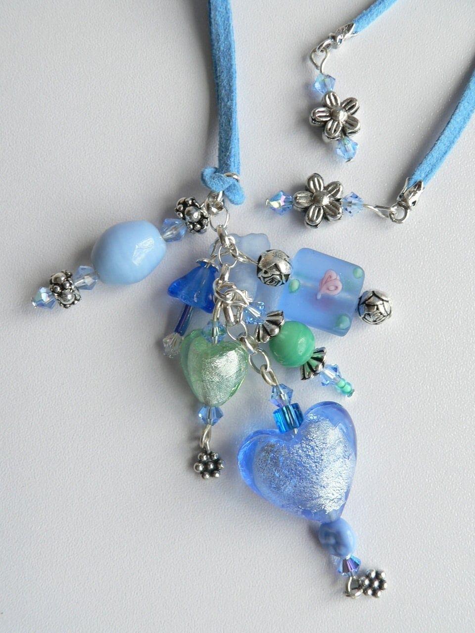 Long Suede Necklaces